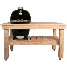 kamado joe grill table plans grill dome infinity series large kamado grill on cypress table