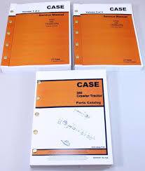 case 350 crawler tractor dozer service repair manual parts catalog