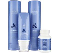 retress 4 piece hair rejuvenation system page 1 u2014 qvc com