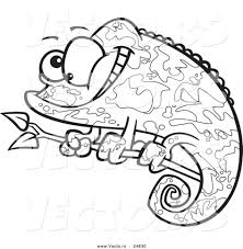 chameleon coloring pages printable virtren com