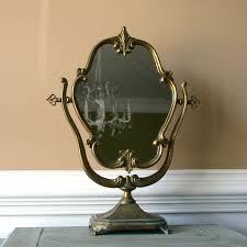Antique Vanity With Mirror And Bench - peaceful design vintage vanity mirror vintage style ladies vanity
