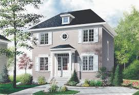 compact two story house plan 21004dr traditional canadian