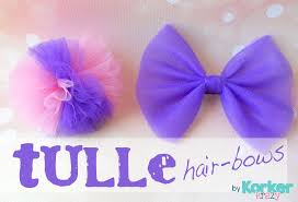 tulle hair bows tulle hair bows by korker krazy m hair ties bows
