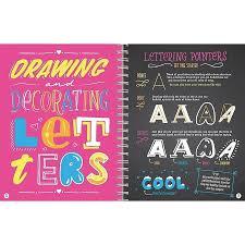 klutz neon chalk lettering craft kits