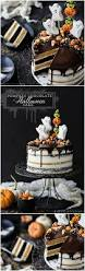 Halloween Decorations For Cakes by Pumpkin Chocolate Halloween Cake Baking A Moment