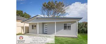 Granny Cottage by New Central Coast Granny Flat Display Home Backyard Grannys