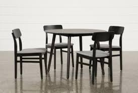 black dining room table chairs small dining room table sets swift 5 piece round dining set dining