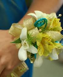 Prom Flowers Yellow U0026amp Gold Prom Corsage Prom Flowers Flower Shop Network