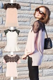 great diy clothes idea for dressing up a plain blouse or tshirt