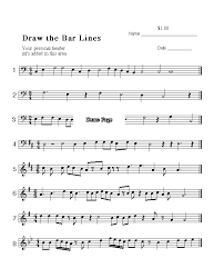 free downloads rhythm bar lines meter note values
