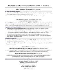 Itil Certified Resume Vp Resume Hitecauto Us