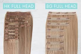 hk extensions the difference between sets and individual wefts hair