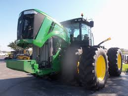 john deere 9560r with hood up john deere equipment pinterest
