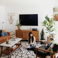 Mid Century Style Home A Bohemian Mid Century Home Like No Other Decoholic