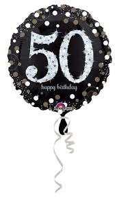 50th birthday balloons 50th birthday balloons 50th sparkling birthday balloons 32131