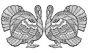 printable thanksgiving coloring pages for adults