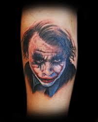 joker tattoo roseanchortattoo