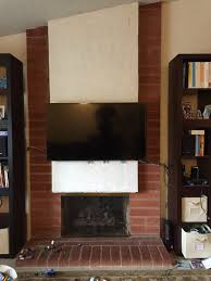 How To Update Brick Fireplace by Suggestions For How To Update A Brick And Stucco Hearth Fireplace