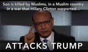 Pat Meme - the khizr khan donald trump controversy summed up in four memes
