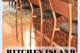 Kitchen Islands With Bar Stools Kitchen Island Bar Stools Transformed With Modern Masters