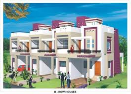 Row House Plans - prabha ashish enclave floor plans
