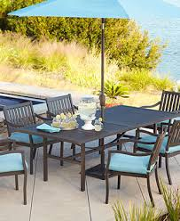 Outdoor Fabric For Patio Furniture Holden Outdoor Patio Furniture Dining Set Powder Coated Aluminum