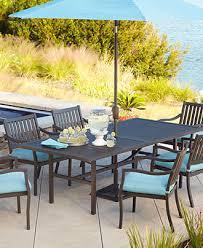 Sunbrella Outdoor Patio Furniture Holden Outdoor Patio Furniture Dining Set Powder Coated Aluminum