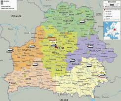 Map Of Lithuania Retail Map Of Lithuania Big Supermarkets Retail Maps From Cis