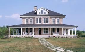 wrap around porch homes farmhouse new home custom new homes by vujovich design build in minn