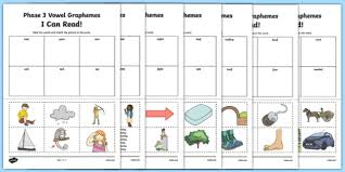 phase 3 worksheets primary phonics resources page 1