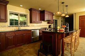 kitchen wall paint with brown cabinets 25 remarkable kitchens with cabinets and granite