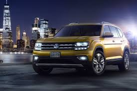 atlas volkswagen white seven seat vw atlas suv unveiled in the us by car magazine