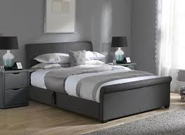 Grey Ottoman Bed Grey Ottoman Bed Bonners Furniture