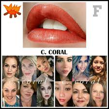 c coral lipsense lipsense colors pinterest lips make up