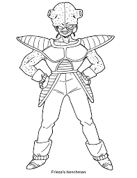 coloring page dragon ball z coloring pages 10