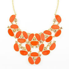 gold orange necklace images 41 orange necklaces orange turquoise statement necklace orange jpg