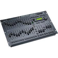 dmx light board controller behringer eurolight lc2412 24 channel dmx lighting console
