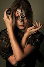 halloween kitty face 50 best face paint images on pinterest face paintings make up