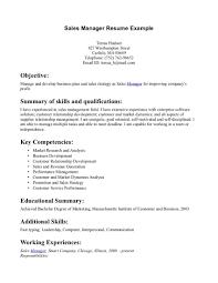 Sample Sales Manager Resume  sample resume for sales manager