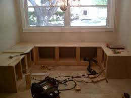 build it u2013 bench seating for the kitchen nook corner bench