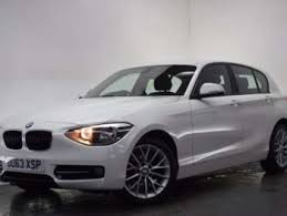 white bmw 1 series sport used bmw 1 series sport for sale motors co uk