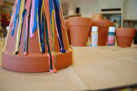 how to make drip paint pots how tos diy