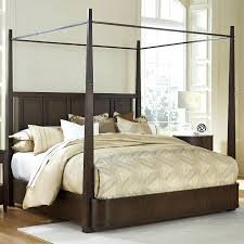 Four Poster Canopy Bed Frame Bed Frames White Four Poster Bed With Curtains Four