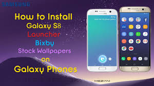 inswall wallpapers how to install galaxy s8 launcher bixby stock wallpapers on