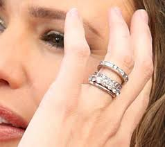 Stacked Wedding Rings by Jennifer Garner Diamond Rings I Want To Start With One Wedding