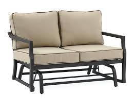 glider patio furniture padded sling double glider wicker glider