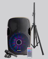 bluetooth party speakers with lights as 12blu lt pk gemini sound