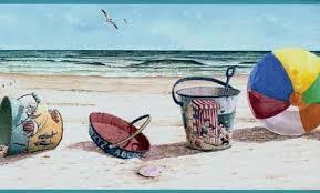 beach border 5 kante pinterest
