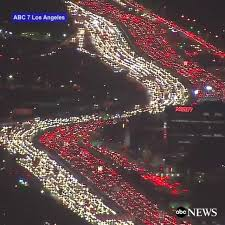 abc news aerial footage shows
