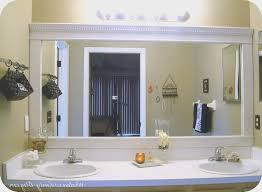 bathroom awesome border for bathroom mirror home decor interior